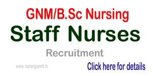 23 Staff Nurse Vacancies for Diploma Nursing BSc Nursing Candidates