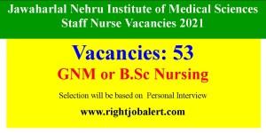 Institute of Medical Sciences Staff Nurse Vacancies 2021