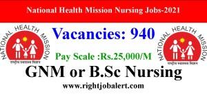 NHM 940 Nursing Community Health officer job Opportunities