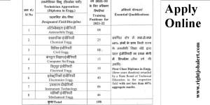 Diploma Engineering Apprentice Job Vacancies