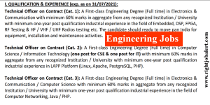ECIL Engineers Recruitment- 23000 Salary