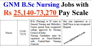 Nursing Jobs with 25140-73270 Pay Scale