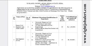 Civil Engineering Team Leader Jobs-1 Lakh 20K Salary