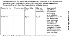 Staff Nurse Jobs in Telangana