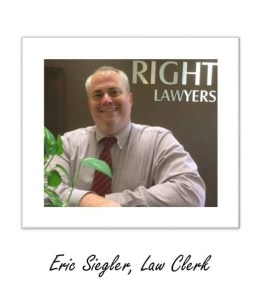 Eric Siegler, Las Vegas Divorce Law Clerk