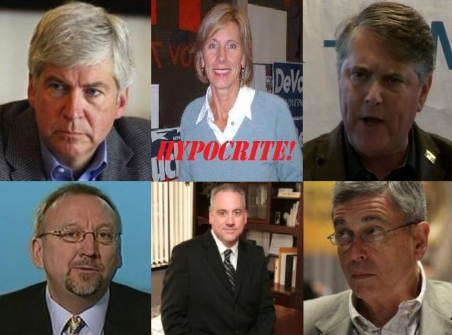 A L Brooks Patterson Scandal and MIGOP Crickets