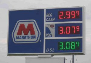 Southfield, MI Gas Prices 12 June 2015