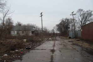 This typical Detroit Street was not difficult to find.