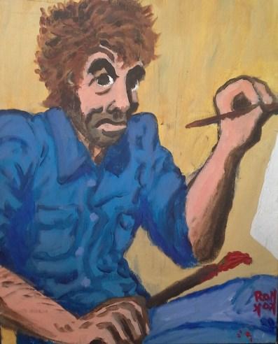 Self portrait as mad student artist