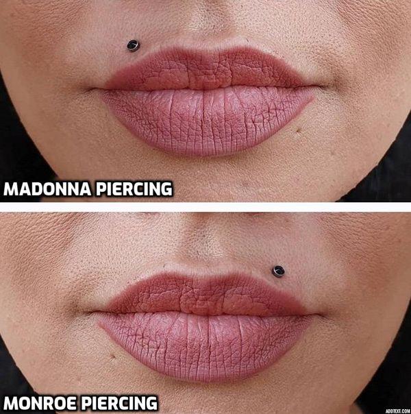 madonna piercing vs monroe
