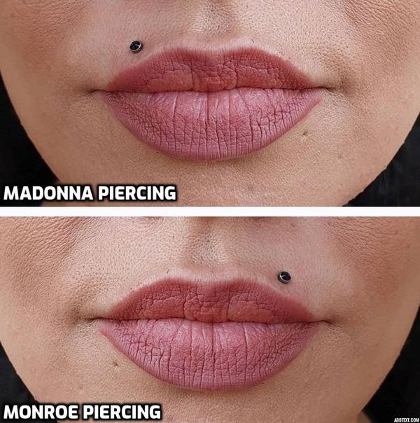 madonna vs monroe piercing