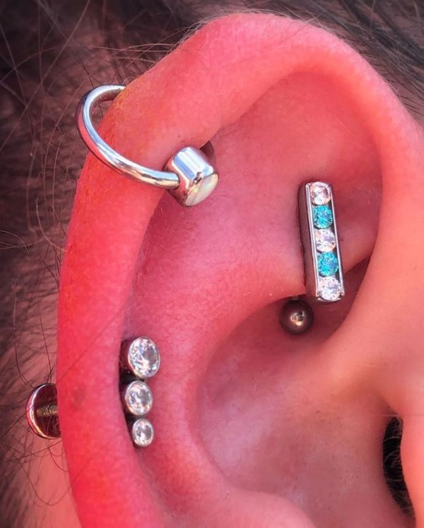 rook piercings jewelry
