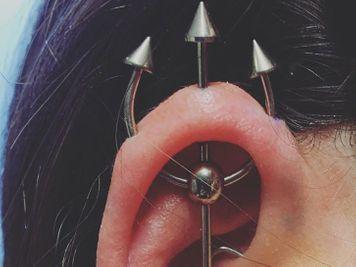trident piercing bar