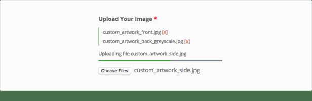 WooCommerce Custom Fields File Uploads