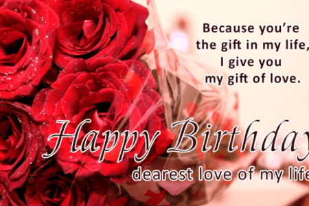 Happy Birthday My Love Hd Images Wallpaper For Downloads Easy