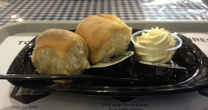 CWA scones with cream and jam at the Royal Easter Show