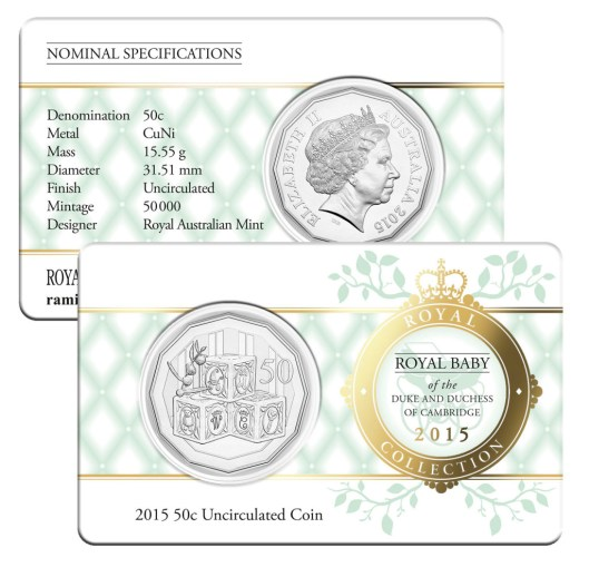 2015 50c Uncirculated Coin Photo © Royal Australian Mint