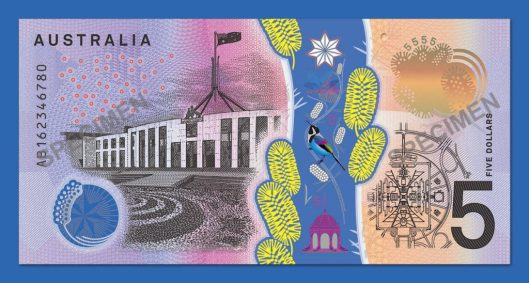 The back features Parliament House, Canberra. Photo: Reserve Bank of Australia