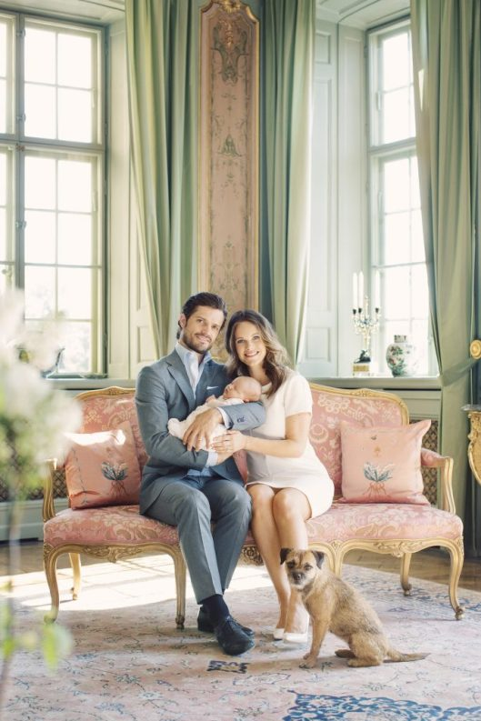 Prince Carl Philip, Princess Sofia and Prince Alexander. Drottningholm, May 2016 Photo: Erika Gerdemark/Kungahuset.se