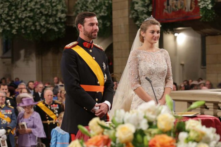 Prince Guillaume Hereditary Grand Duke marries Countess Stephanie de Lannoy Notre Dame Cathedral
