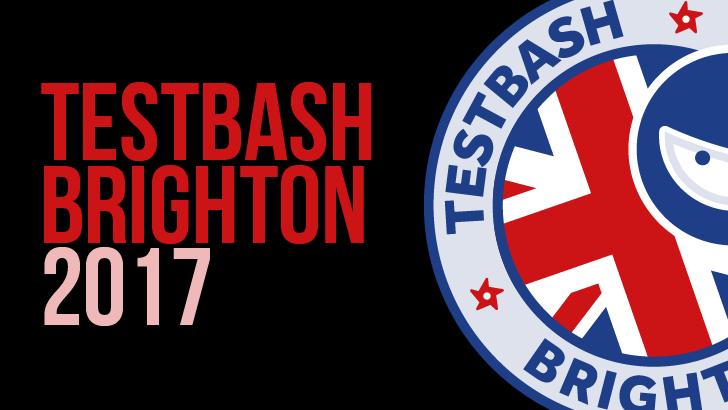 TestBash Brighton 2017 (testing conference) logo