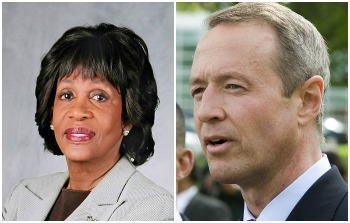 Maxine_Waters_and_Martin_OMalley