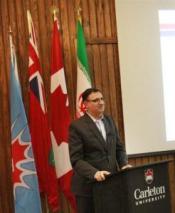 Hamid Mohammadi Iranian cultural affairs attaché at the Iranian embassy in Ottawa