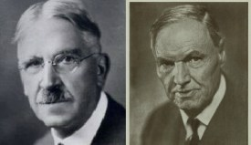 John Dewey and Clarence Darrow