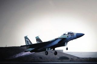 Israeli-F-15-fighter-jet