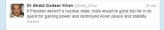 Dr Khan Nuclear Pakistan