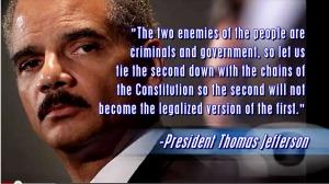 Eric Holder Scandals
