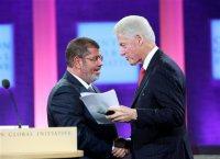 Morsi and Clinton