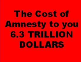 Huge cost of amnesty