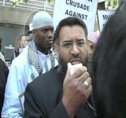 Mentor Choudary and Mentee jihadist butcher Adebolajo