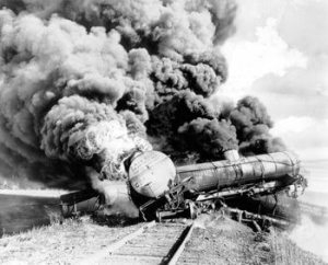 train wreck-with-fire