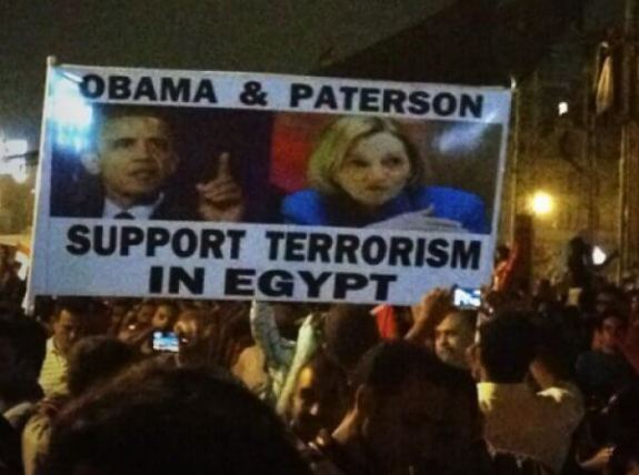 Obama and Paterson Support Terrorism in Eqypt