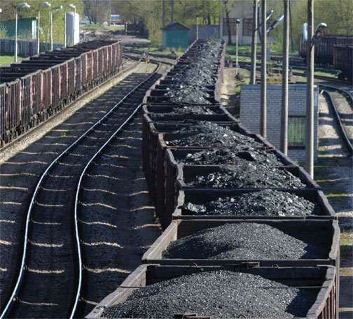 EIA coal train