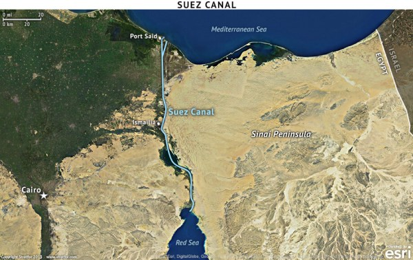 Suez Canal Stratfor