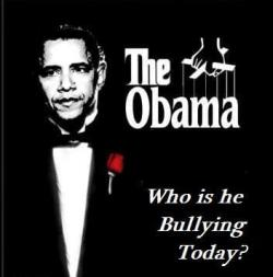 Obama the Big Bully on the Hill