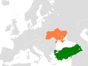 Turkey Ukraine Locator