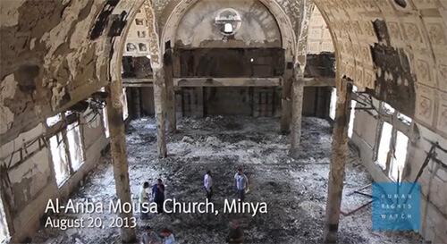 Al Anba Mousa Church Minya Egypt