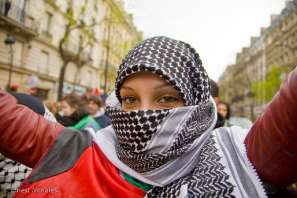 Photo Credit Ernest Morales Muslim Headscarf in Paris
