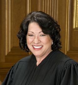 Sonia Sotomayor in SCOTUS robe