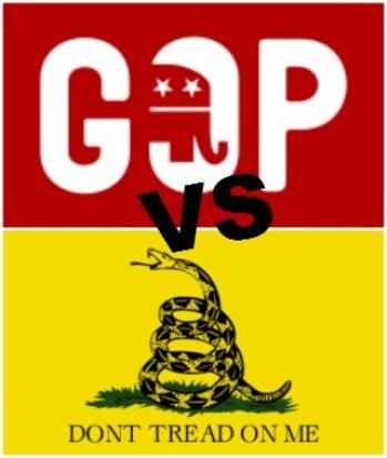 GOP-versus-Tea-Party