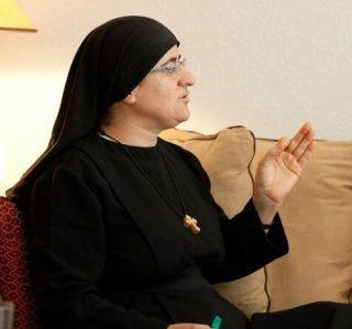 Sister Hatune Dogan of the Syrian Orthodox Church Orlando May 17 2014