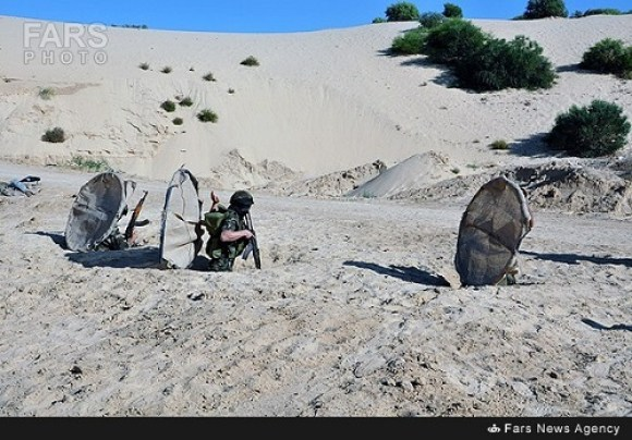 Islamic Jihad members emerge from tunnels equipped with Iranian weapons