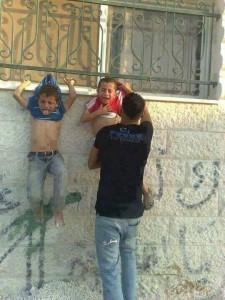 Children human shields Gaza