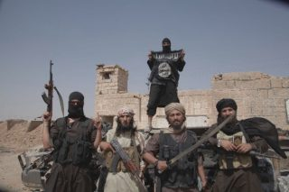ISIS fighters courtesy of VICE News
