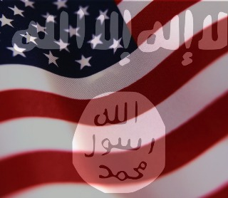 American-Flag ISIS