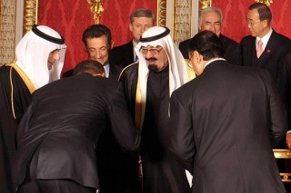 Obama bowing to Islam